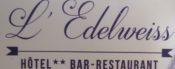 logo Hôtel 2** Edelweiss